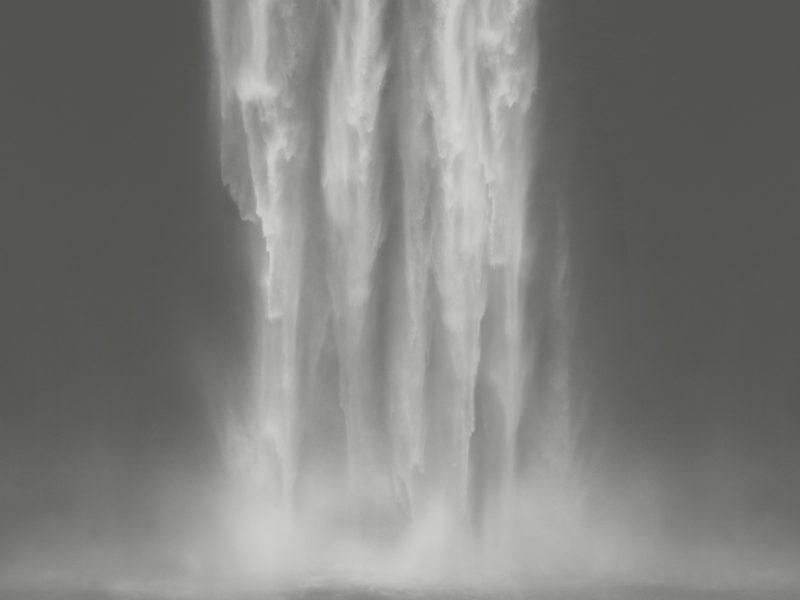 waterfall painting named eternal lines