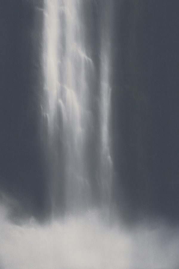 painting of waterfall named whitefire